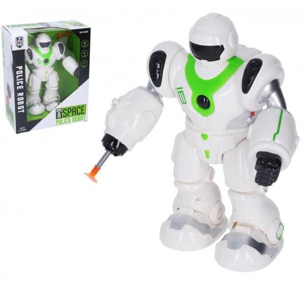 Robot Polícia na batérie