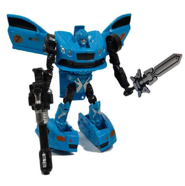 Robot transformujúci sa na auto