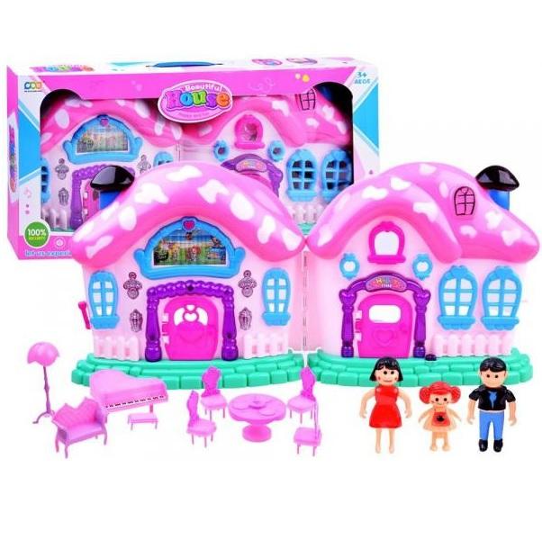 Rozprávkový domček pre bábiky