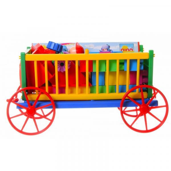 Rozprávkový vozík s kockami