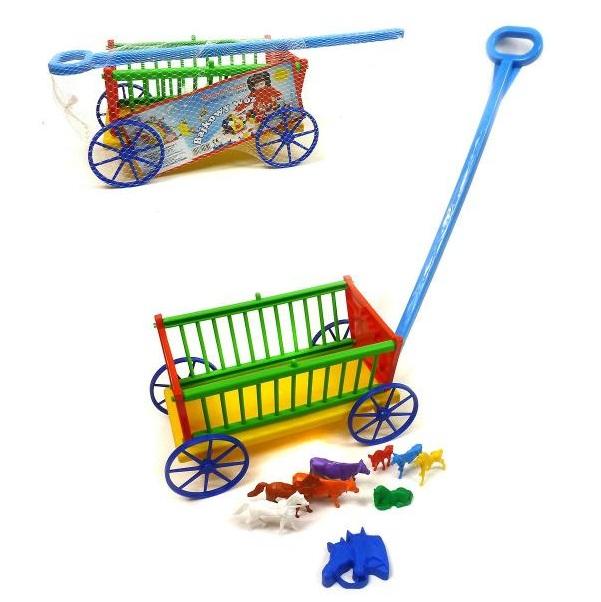 Rozprávkový vozík so zvieratkami