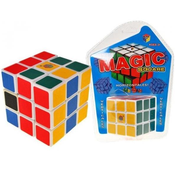 Rubíková kocka 6 cm