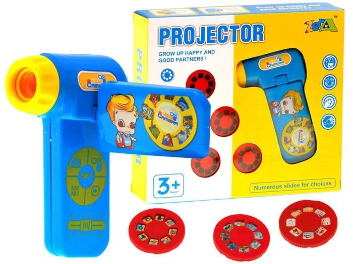 Ručná kamera projektor pre deti