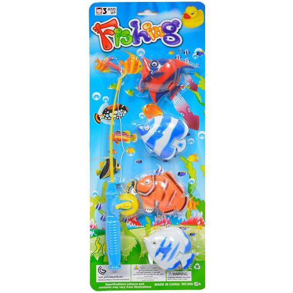Rybárska udica so 4 rybkami