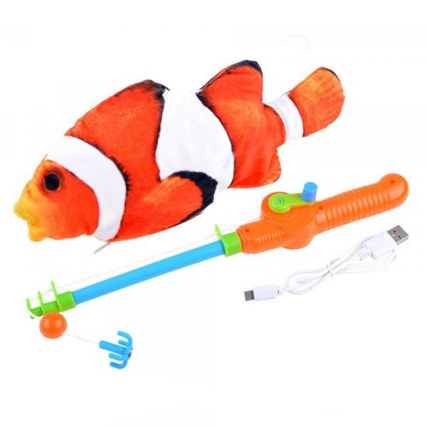 Rybolov na pohybujúceho sa Nema
