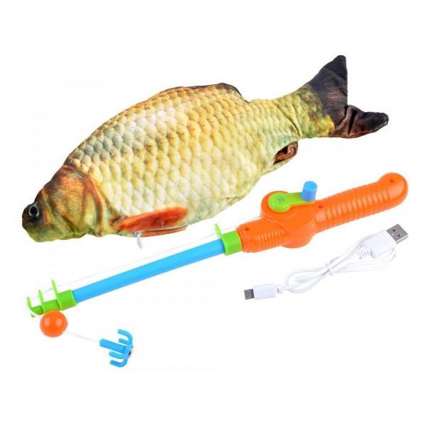 Rybolov pohybujúceho sa kapra
