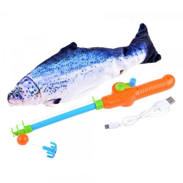 Rybolov pohybujúceho sa pstruha