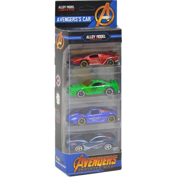 Sada 4 aut Avengers