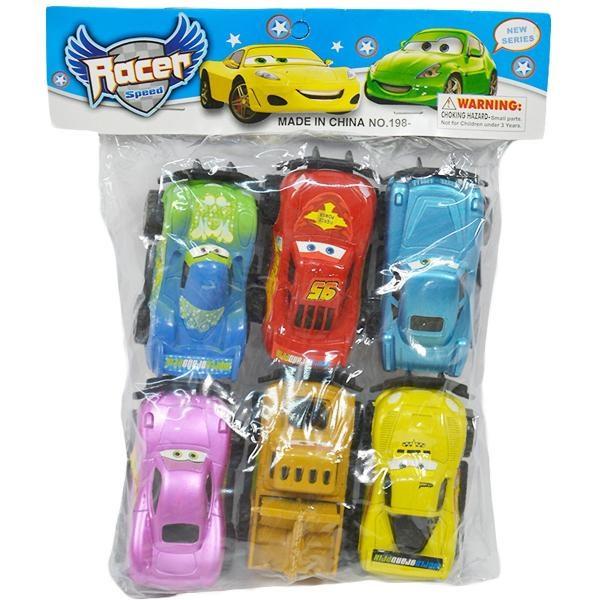 Sada aut CARS 6 ks