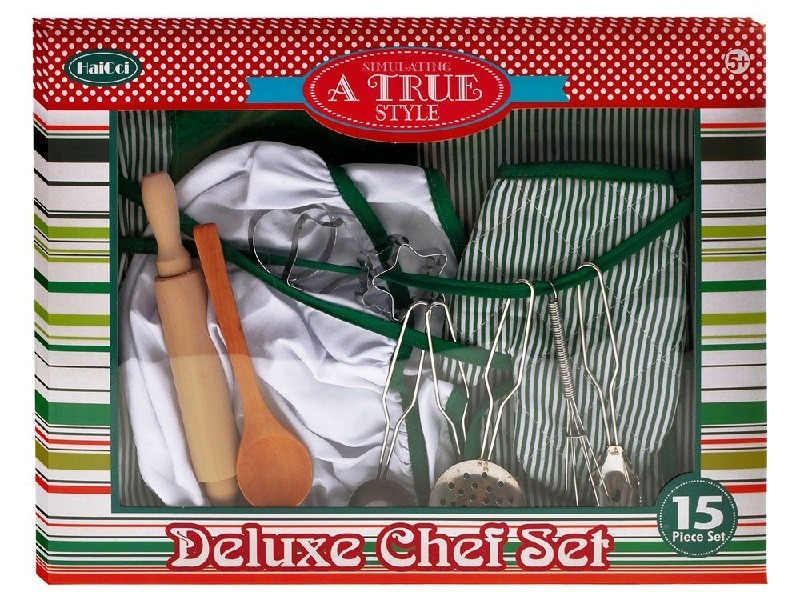Sada malého kuchára Deluxe