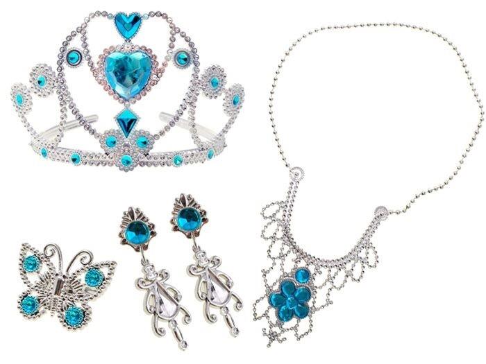 Sada šperkov princeznej Elsy - Ľadové kráľovstvo
