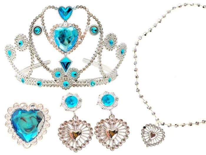 Senzačný set šperkov princeznej Elsy - Ľadové kráľovstvo