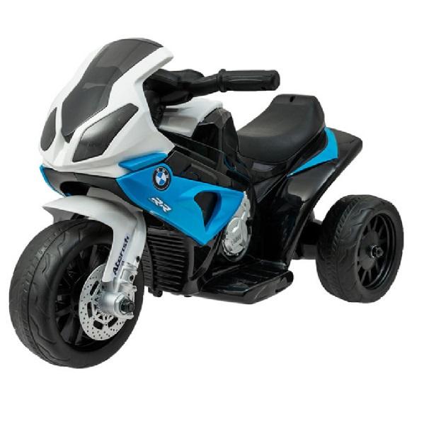 Športová elektrická motorka BMW modrá