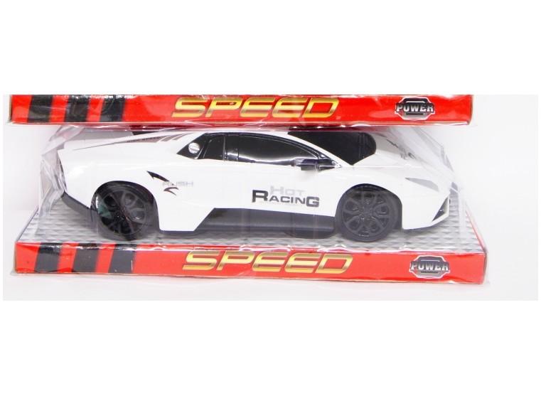 Športové auto 25 cm