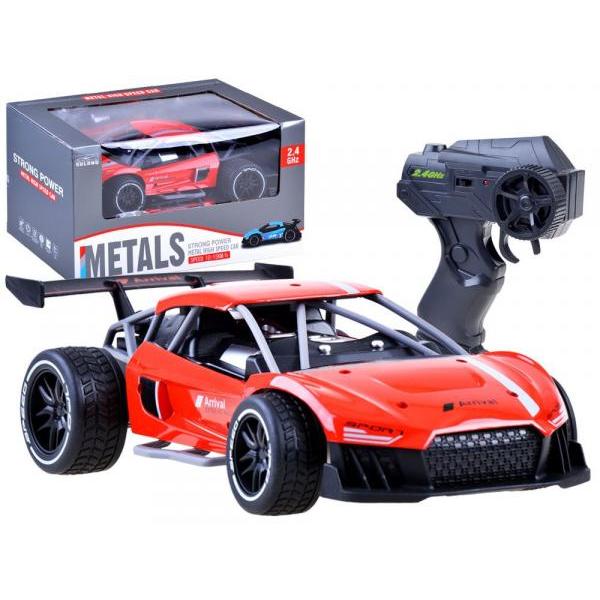 Športové kovové auto na diaľkové ovládanie
