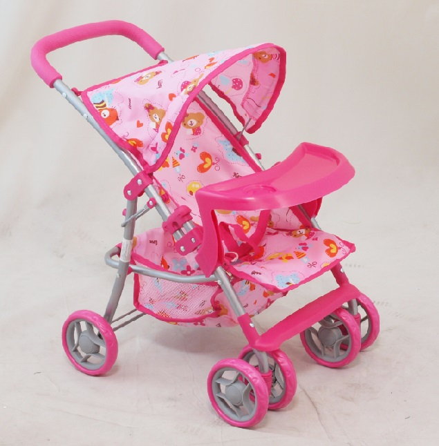 Športový kočík pre bábiky Baby Mix 9304BW-T- M1404