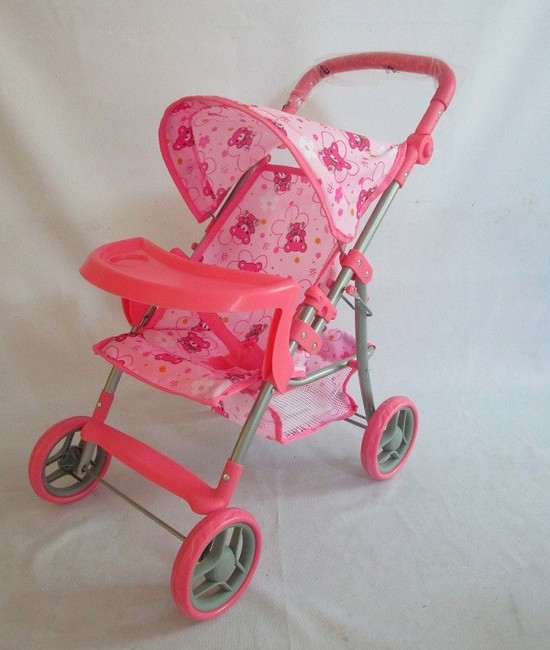 Športový kočík pre bábiky Baby Mix 9366T-M1104