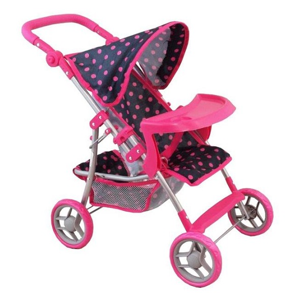 Športový kočík pre bábiky Baby Mix 9366T-M1218