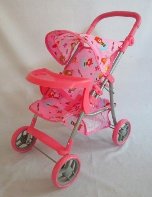 Športový kočík pre bábiky Baby Mix 9366T-M1404
