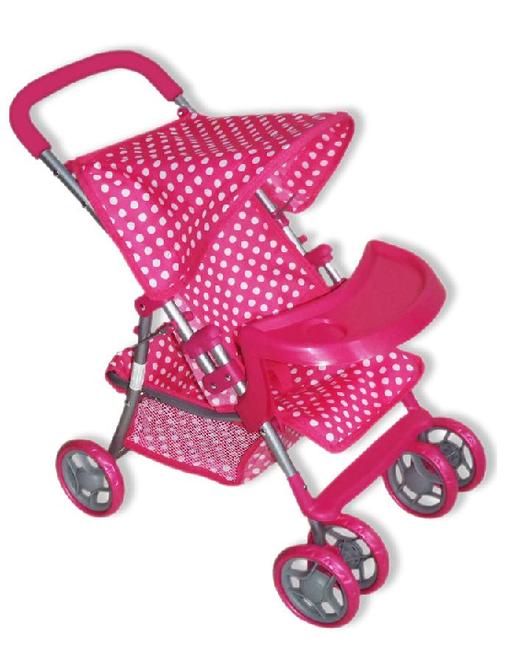 Športový kočík pre bábiky Baby Mix 9304BW-T M1422