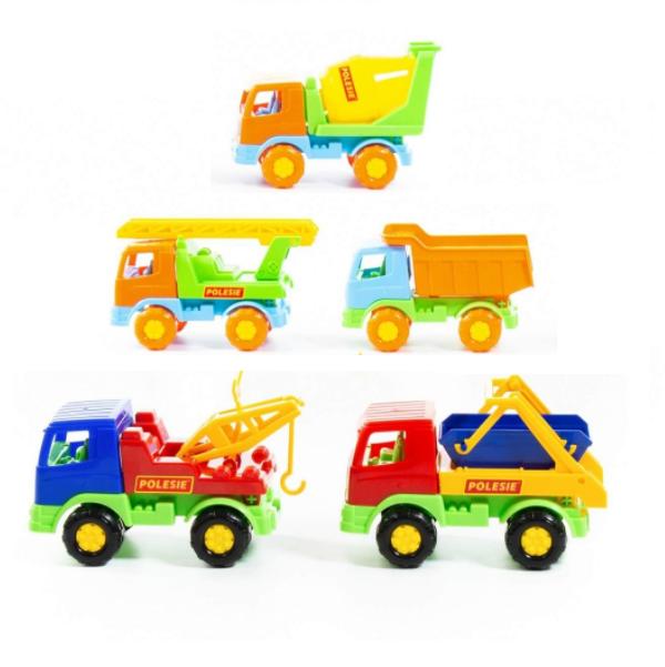 Stavebné nákladné auto 16 cm