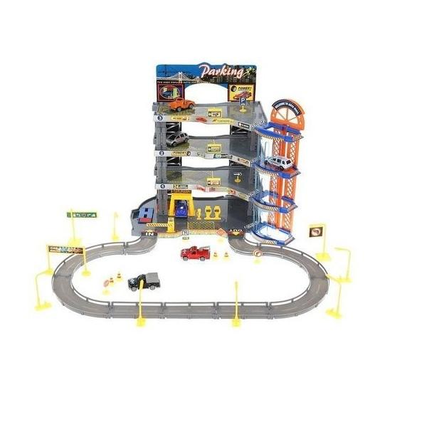 Super garáž 4 poschodová s výťahom - akcia: pokrčená krabica