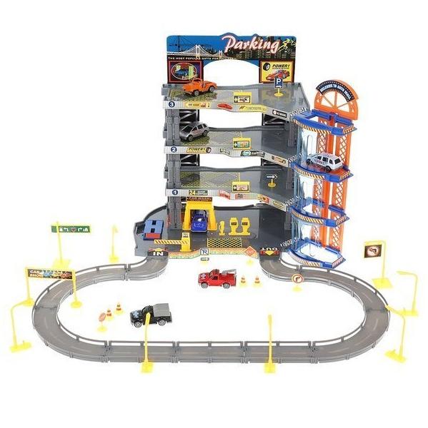 Super garáž 4 poschodová s výťahom