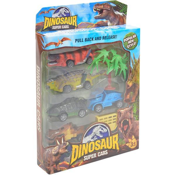Dinosaur cars - súprava aut