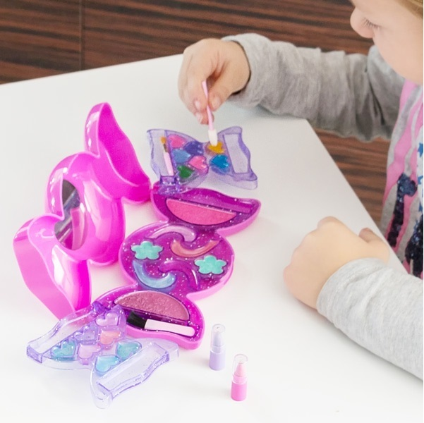 Taštička s líčidlami pre dievčatá - Mašľa