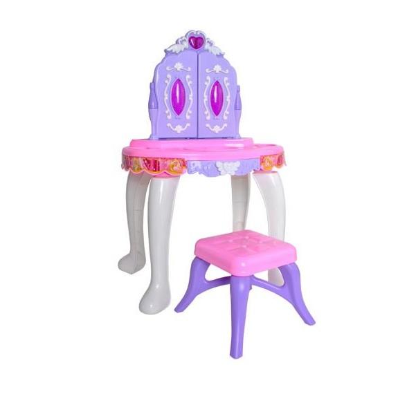 Toaletný stolík so stoličkou