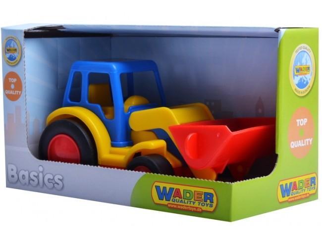 Traktor s lyžicou WADER