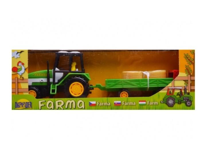Traktor s nízkou vlečkou