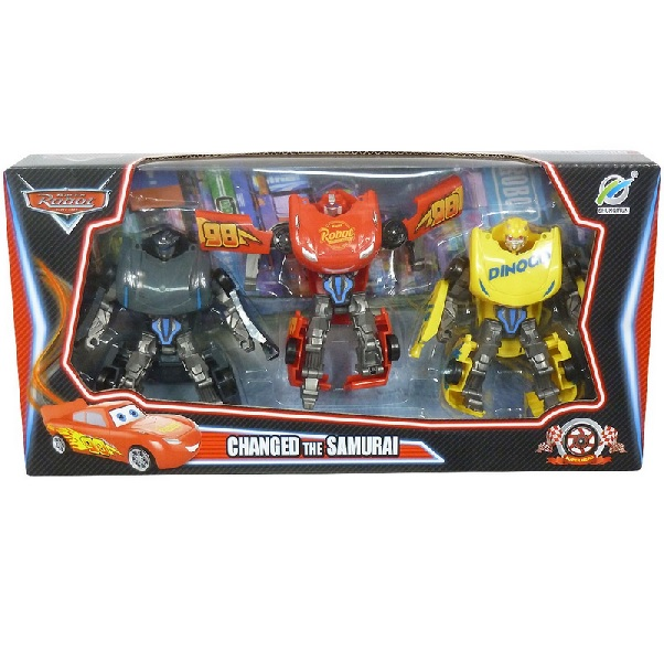 Transformers auto CARS - sada 3 kusov