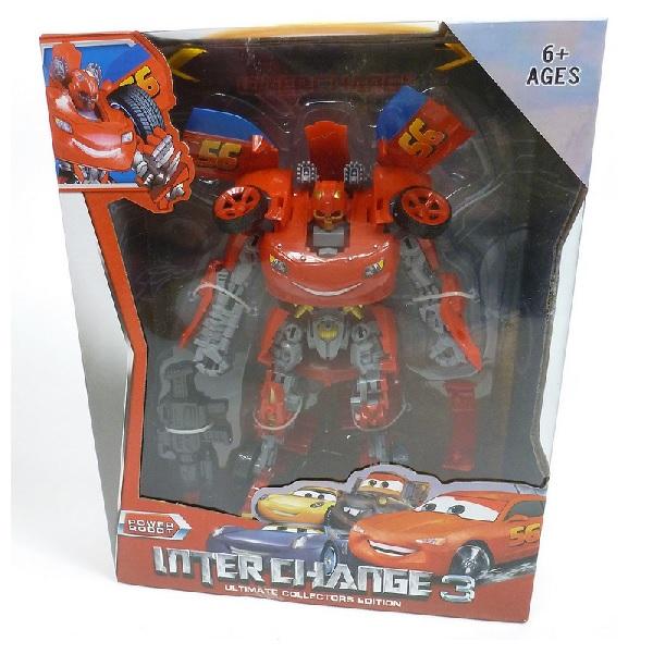 Transformers blesk McQueen-akcia odlúpnutá farba