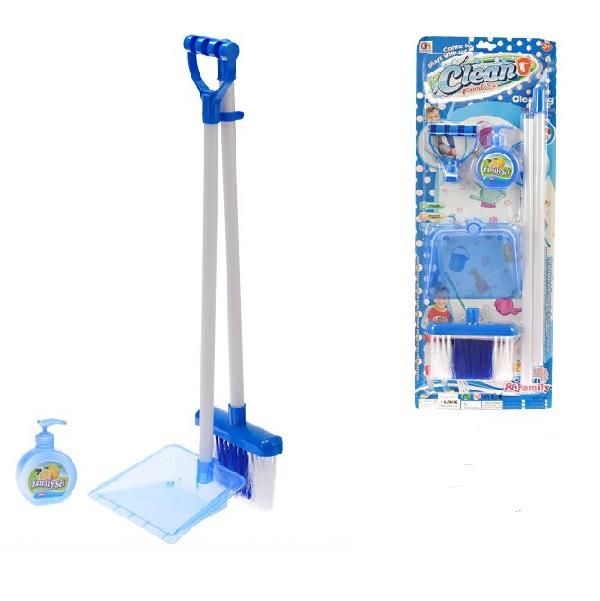 Upratovacia súprava pre deti modrá