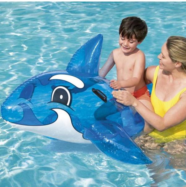 Veľký nafukovací modrý delfín BESTWAY 41037