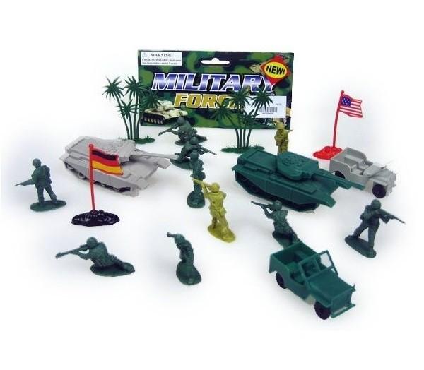 Vojenská sada - 45 kusov