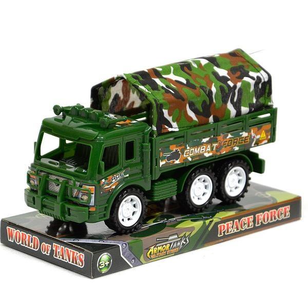 Vojenské nákladné auto - akcia: popukaný plastový obal