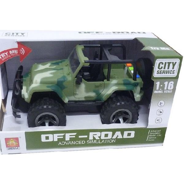 Vojenské terénne auto Jeep