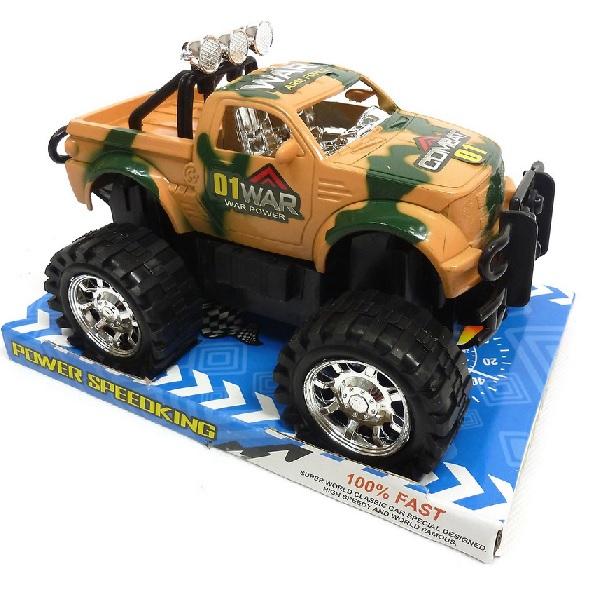 Vojenské terénne auto Jeep 23 cm