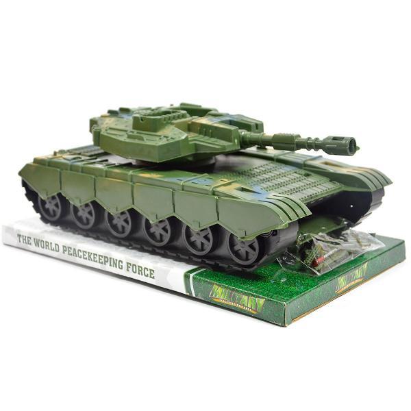 Vojenský tank na zotrvačník 30 cm
