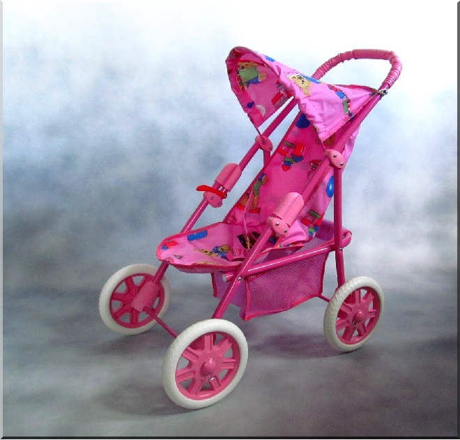 Športový kočík pre bábiky Daria