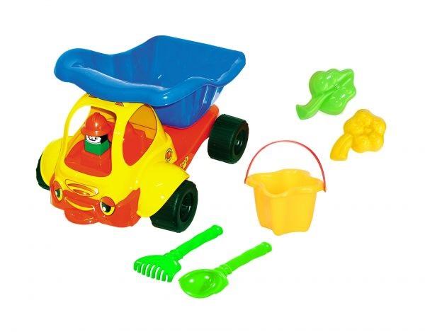 Vyklápacie auto s formičkami
