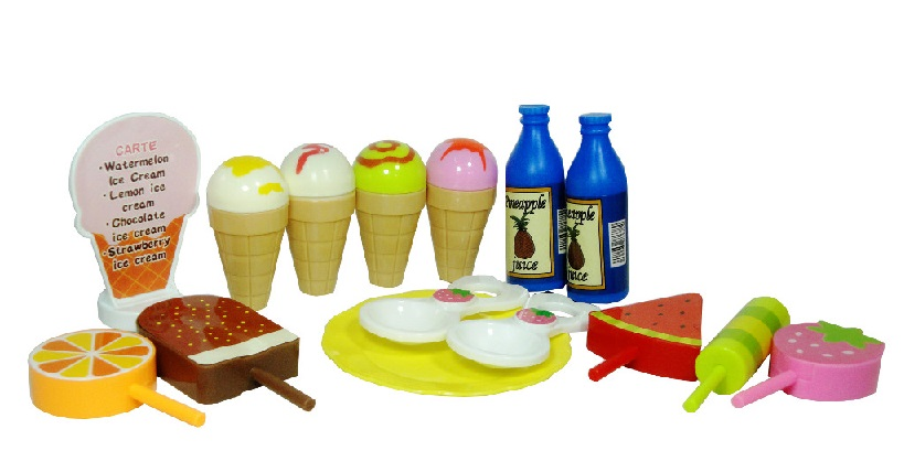 Zmrzlinová sada pre deti